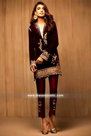 DR14144 - Maroon Grecia Dress