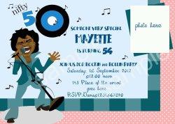 Teal Sings Ny Birthday Party Invitations Ny Birthday Party Invitations Ideas Free Invitation 50th Birthday Invitations Wording 50th Birthday Invitations Walmart
