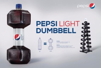 pepsi-light-dumbbell-direct-marketing-design-381705-adeevee