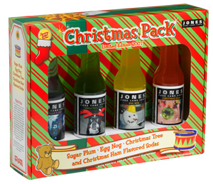 xmas07 pack med Review: Jones Soda Christmas Pack 2007