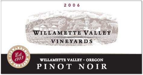 willamettevalley Review: 2006 Willamette Valley Vineyards Pinot Noir