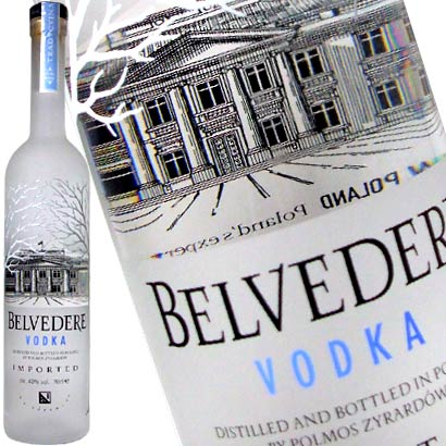belvedere vodka Review: Belvedere Vodka