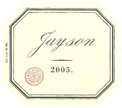 jayson red 2005 Review: 2005 Pahlmeyer Jayson Red