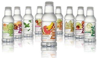 hint water Review: Hint Flavored Water