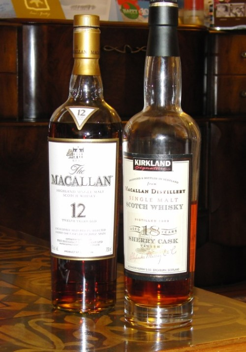 kirkland macallan 18 year Review: Kirkland Macallan 18 Year Sherry Cask Finish