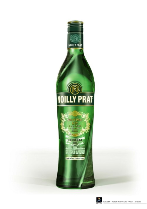noilly prat vermouth new bottle Review: Noilly Prat Dry Vermouth   New Recipe 2009