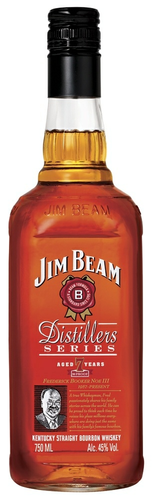 jim beam distillers series Review: Jim Beam Distillers Series Bourbon (2008 edition)