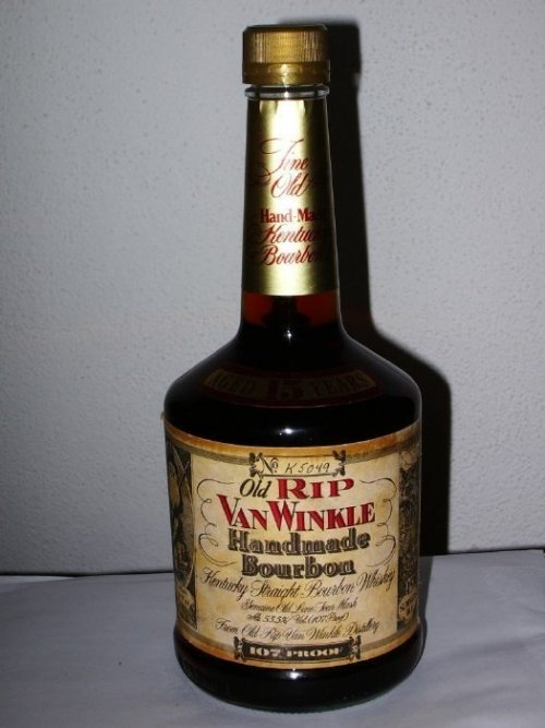 old rip van winkle 15 year Review: Old Rip Van Winkle Handmade Bourbon 15 Years Old