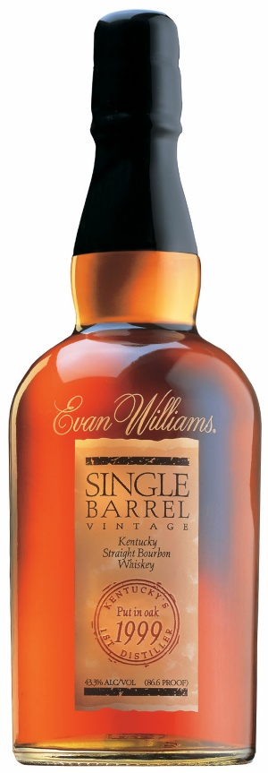 evan williams single barrel vintage 1999 Review: Evan Williams Single Barrel Bourbon 1999 Vintage