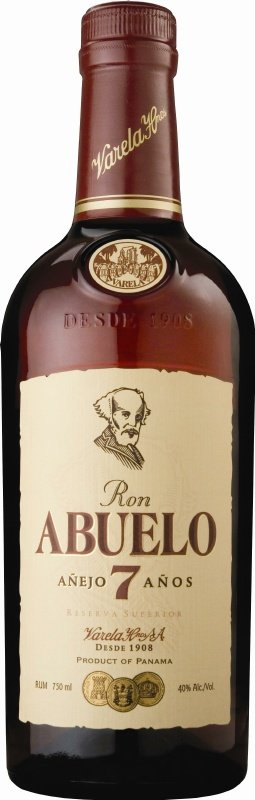 ron abuelo 7 anos rum Review: Ron Abuelo Anejo Rums