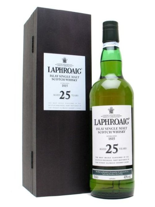 laphroaig 25 year Review: Laphroaig 25 Year Old Scotch Whisky