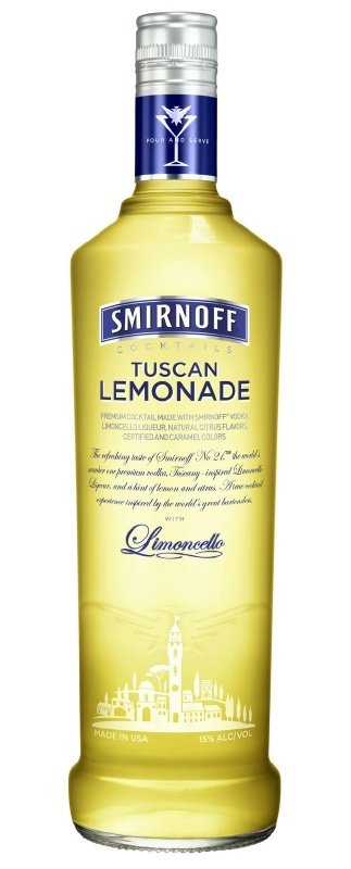 smirnoff tuscan lemonade1 Review: Smirnoff Tuscan Lemonade
