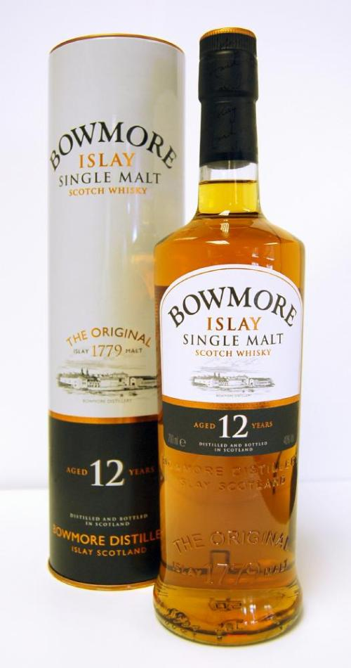 bowmore 12 year old Review: Bowmore 12 Year Old Scotch Whisky