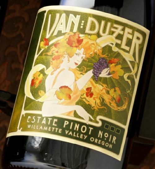 van duzer pinot noir Review: 2007 Van Duzer Estate Pinot Noir