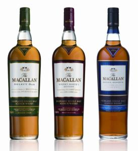 macallan 1824 4 bottle lineup 274x300 Drinkhacker's 2009 Holiday Gift Guide – Best Alcohol/Spirits for Christmas