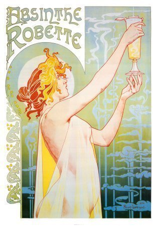 absinthe poster Happy Absinthe Day