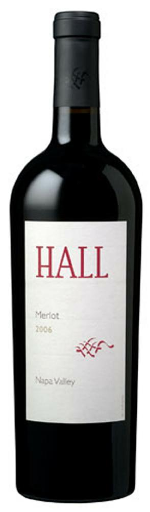 2006 HALL Napa Valley Merlot Review: 2006 Hall Merlot Napa Valley
