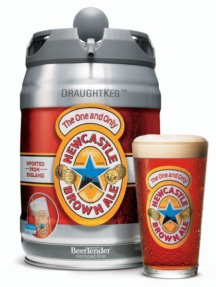 newcastle brown ale draughtkeg Review: Newcastle DraughtKeg