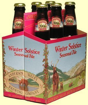 anderson valley winter solstice ale Review: Anderson Valley Brewing Company Winter Solstice Seasonal Ale