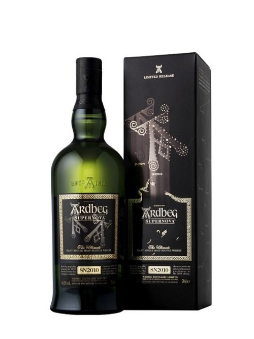 ardbeg supernova 2010 sn2010 Review: Ardbeg Supernova Limited Release SN2010