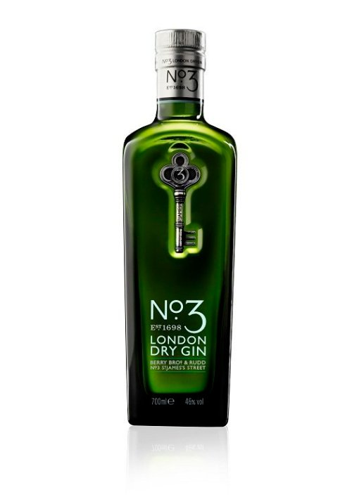 no 3 london dry gin Review: No. 3 London Dry Gin