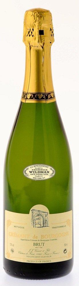 JJ Vincent Cremant de Bourgogne Review: NV JJ Vincent Cremant de Bourgogne Brut