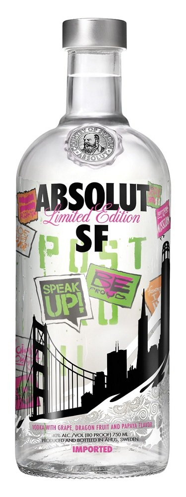 absolut sf Review: Absolut SF Limited Edition Vodka