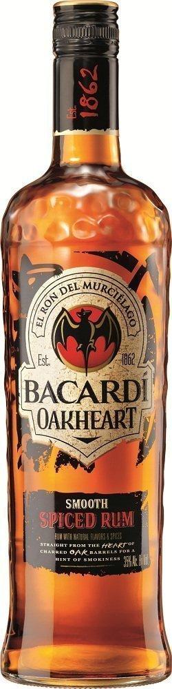 bacardi oakheart spiced rum Review: Bacardi Oakheart Spiced Rum