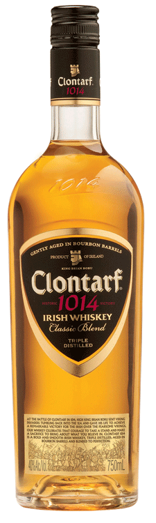 clontarf 1014 irish whiskey Review (and Update): Clontarf 1014 Irish Whiskey