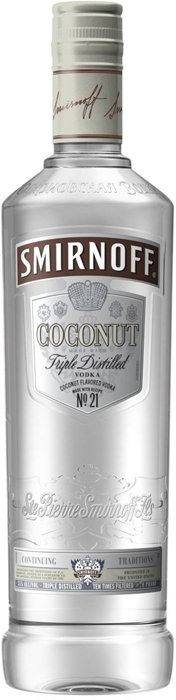 smirnoff coconut Review: Smirnoff Coconut Vodka