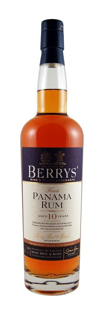 berrys own panama rum 10 years old Review: Berrys Own Panama Rum 10 Years Old