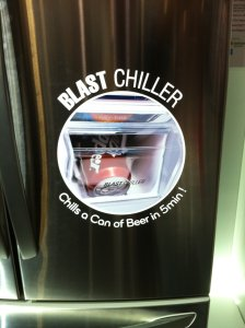 IMG 0239 224x300 LGs Blast Chiller Refrigerator Ices Down Your Beer in 5 Minutes