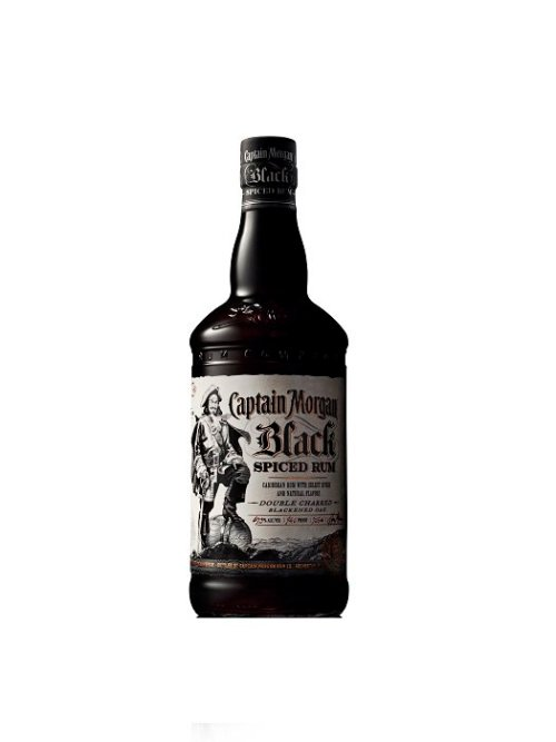 Captain Morgan Black Spiced Rum Bottle Shot Review: Captain Morgan Black Spiced Rum
