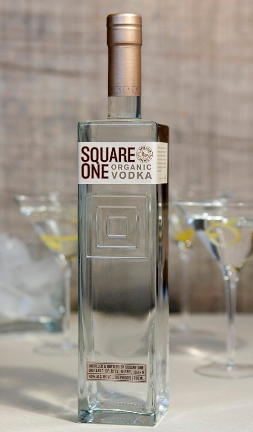 Square One vodka Review: Square One Vodka