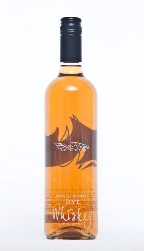 blue flame washington rye 525x916 Review: Blue Flame Spirits Washington Rye and Wheat Whiskeys