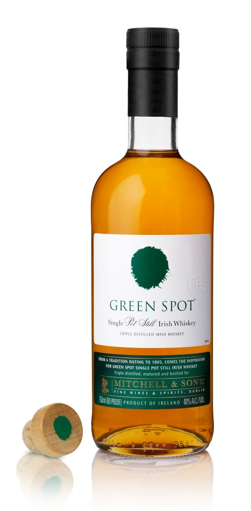 Green Spot Bottle 525x1067 Review: Green Spot Single Pot Still Irish Whiskey