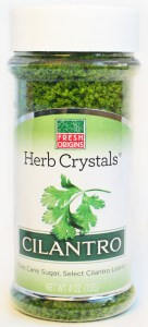 Herb Crystals Cilantro 136x300 Review: Fresh Origins Hibiscus and Cilantro Crystals Cocktail Rimmers