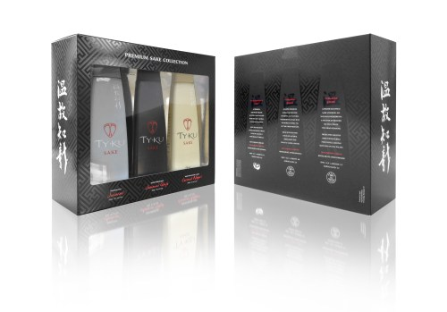 TY KU Premium Sake Collection Pack 525x367 Review: Ty Ku Silver, Black, and Coconut Sake