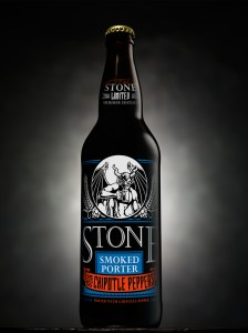 stone chipotle 224x300 Review: Stone Smoked Porter with Chipotle Peppers