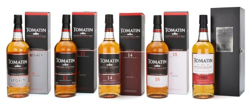 tomatin 525x225 Review: Tomatin Single Malts: 12, 14, 15, and 18 Years Old    Plus 1988 Vintage