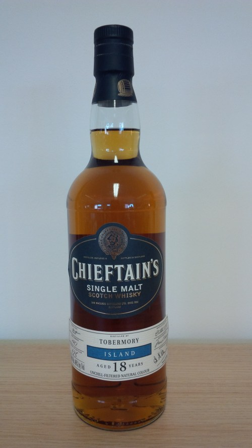 Chieftans Tobermory 525x933 Review: Chieftains Tobermory 1995 18 Years Old Cask #1287