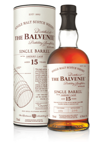 balvenie sherry cask single barrel Review: The Balvenie Single Barrel Sherry Cask 15 Years Old