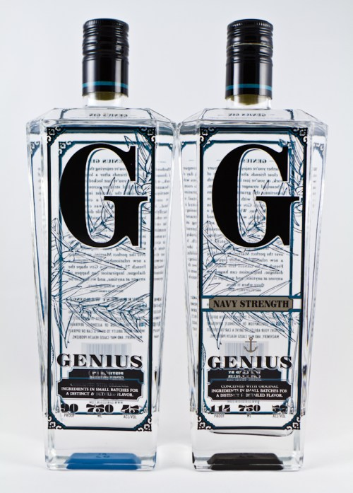 genius gin 525x732 Review: Genius Gin and Navy Strength Gin