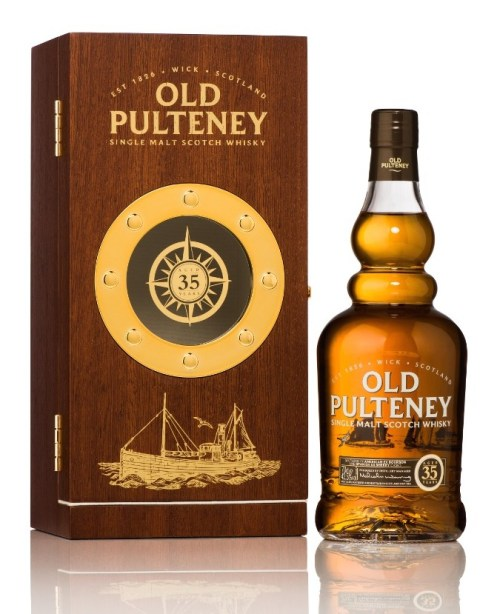 old pulteney 35 525x645 Tasting Report: 6 Whiskies Along The Highland Journey
