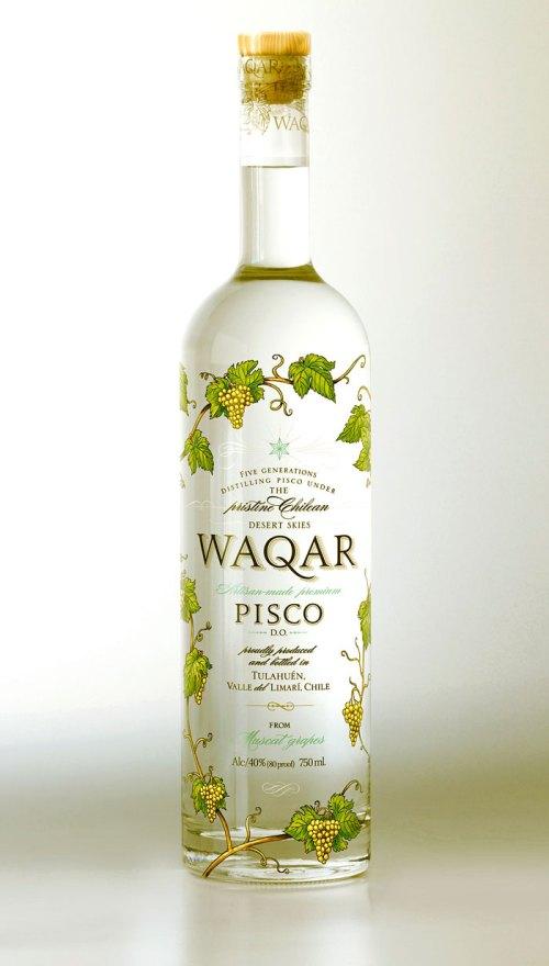 waqar pisco 525x924 Review: Pisco Waqar