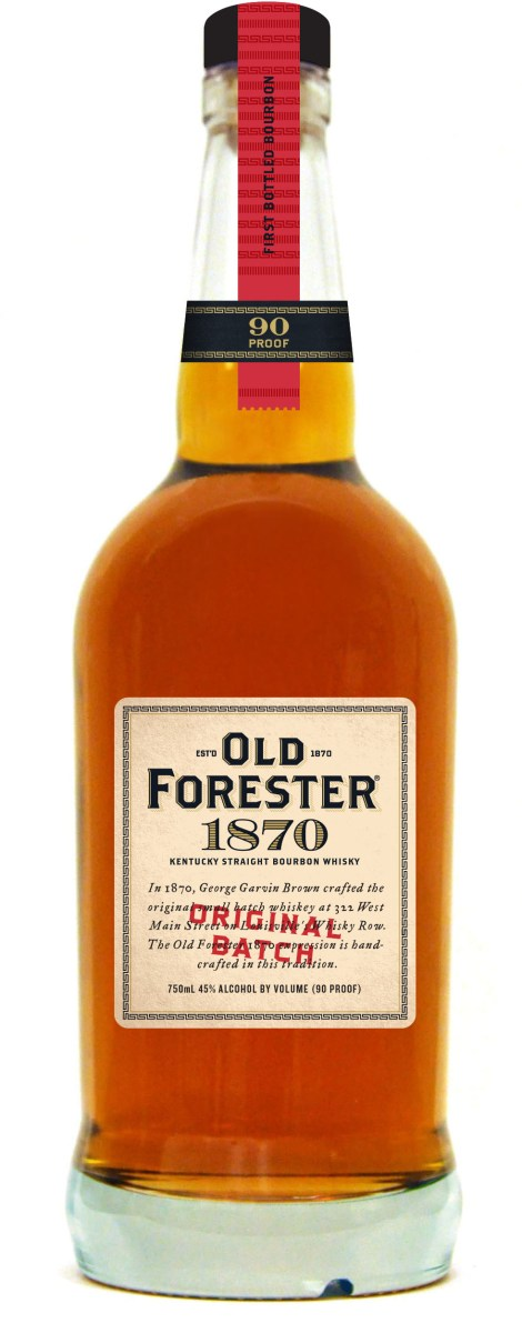 old forester 1870 470x1200 Review: Old Forester Whiskey Row Series   1870 Original Batch Bourbon