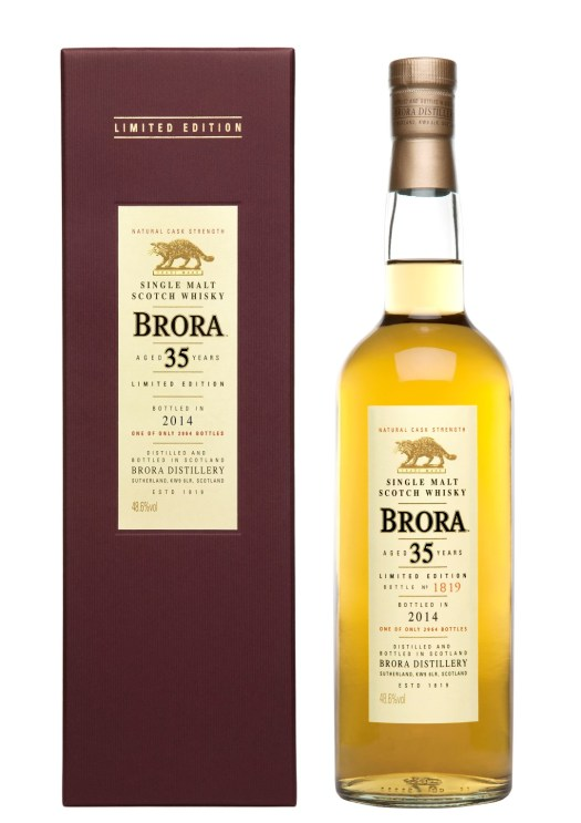 Brora 35YO Bottles & Box