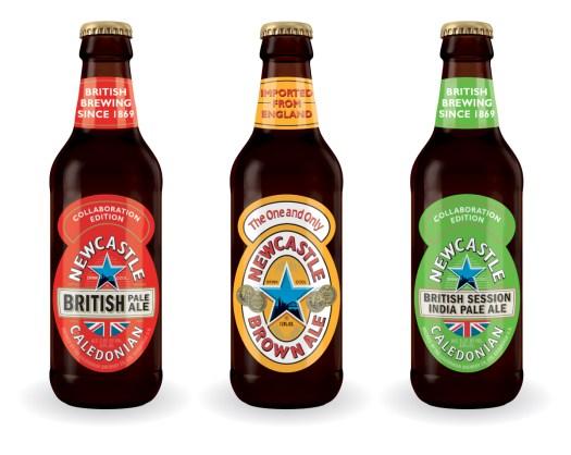 Newcastle Best of Britain Variety Pack bottles