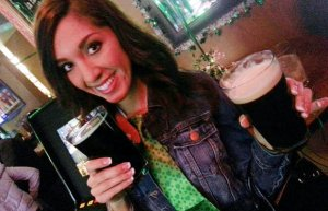 Xposurephotos.com picture of Farrah on St. Patrick's Day before her arrest. (as seen on omg.yahoo.com)