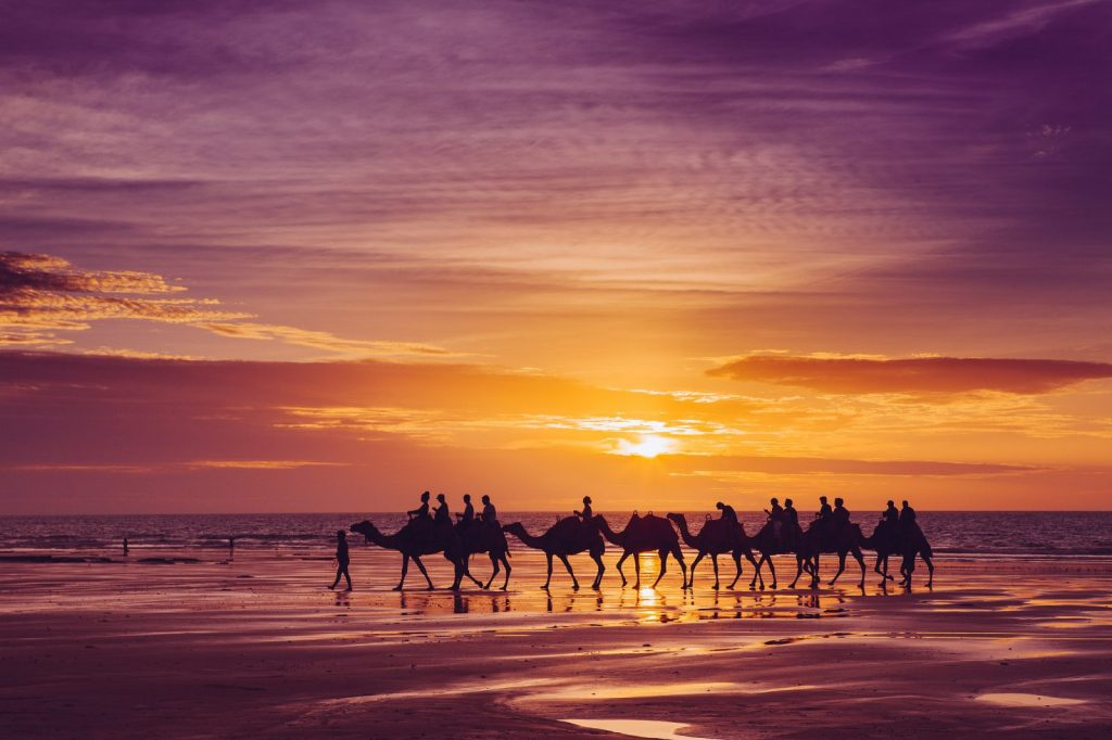 Best Beaches in Australia. Cable Beach, Broome, WA
